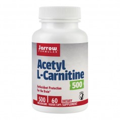 ACETYL L-CARNITINE 500MG 60CPS
