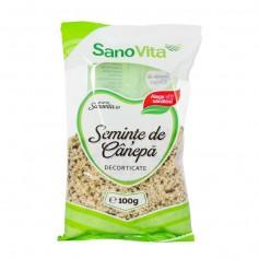Seminte De Canepa Decorticate 100 g SANOVITA