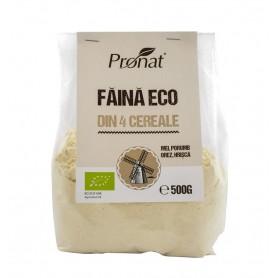 Faina Bio din 4 Cereale fara Gluten Pronat - 500 g