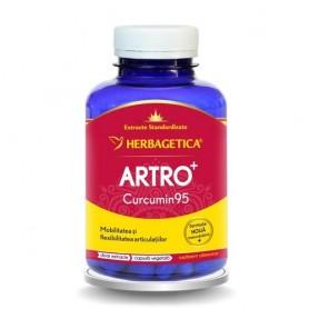 Artro Plus Curcumin 95 Herbagetica - 120 cps