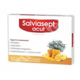 Salvia Acut Zdrovit - 12 cpr