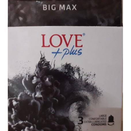 Prezervativ, Love Plus Big Max, 3 bucati