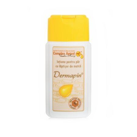 Lotiune Impotriva Caderii Parului, Dermapin, 100 ml, Complex Apicol