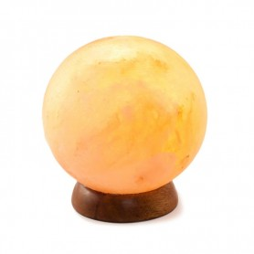 "Lampa de Sare ""Glob Feng Shui"""