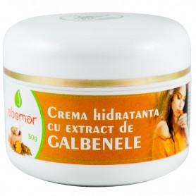 Crema de Intretinere cu Aloe si Galbenele, 50 g, Abemar Med