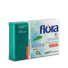 Flora10 Miliarde de Bacterii Vii,15 cps