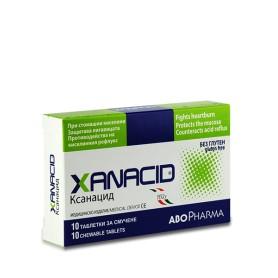 Pastile de Supt pentru Reflux gastric, Xanacid, 10 cpr