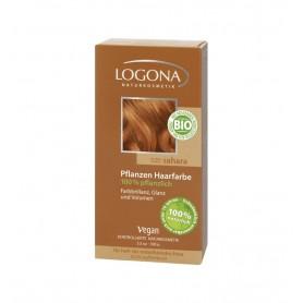 Vopsea de par 100 % naturala – Blond auriu, 100 g Logona