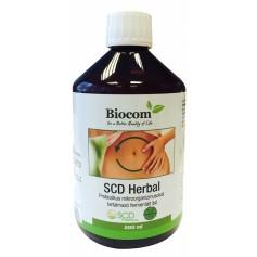 SCD Herbal, Bautura Probiotica, 500 ML