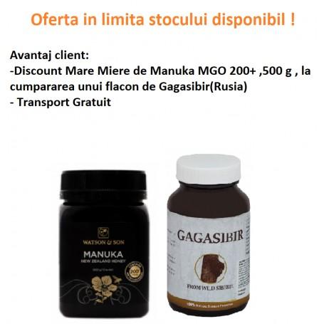 Oferta Miere de Manuka MGO 200+ ( UMF 8+) 500 g, Gratis pret ieftin