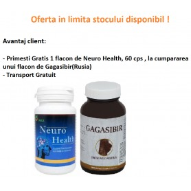 Oferta Neuro Health, 60 cps Gratis