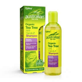 SAMPON 100% ORGANIC CU TEA TREE ( ARBORE DE CEAI DIN AUSTRALIA ) ANTIMATREATA 250ML