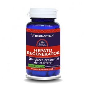 Hepato Regenerator, 60 cps, Herbagetica