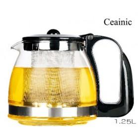 Ceainic din Sticla, cu Infuzor1250 ML