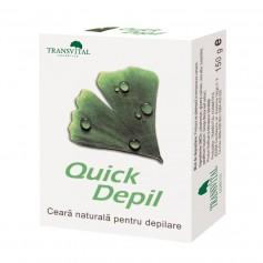 Ceara de Epilat, Naturala, Quick Depil, 150 g