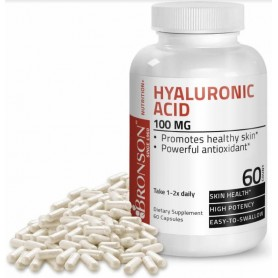 Acid Hialuronic, 100 mg, 60 cps, Bronson