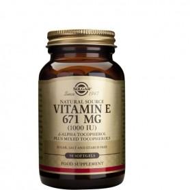 Vitamin E 1000 IU softgels 50s SOLGAR