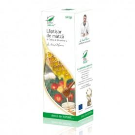 Sirop Laptisor de Matca, Calciu si Vitamina C, 100 ML