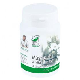 Magneziu si Vitamina B6, 60 cps
