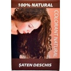 COLORANT NATURAL HENNA SATEN DESCHIS 100G