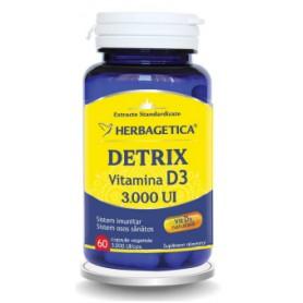 Detrix, Vitamina D3 3.000UI 60 cps vegetale