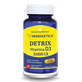 Detrix, Vitamina D3 3.000UI, 30 cps vegetale