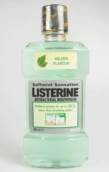 Listerine Softmint Antibacterial 500 ML