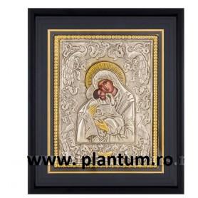 Icoana Maica Domnului, Dulcea Sarutate 25X30 cm