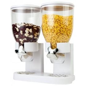 Dispenser Dublu pentru Cereale, 7 L