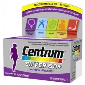 Centrum Silver, 50+ Femei, 30 cpr