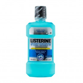 LISTERINE STAY WHITE 500ML+PERIUTA GRATIS