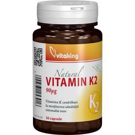 Vitamina K2 90 Mcg, 30 cps, Vitaking