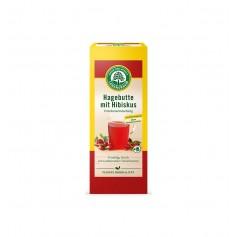Ceai de Măceșe, Bio si Hibiscus, 20x2,5 g Lebensbaum