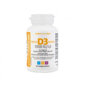 Vitamina D3 1000UI, 90 cps