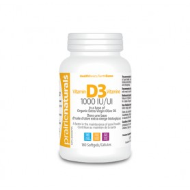 Vitamina D3 1000UI, 180 cps
