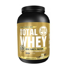 Gold Nutrition Total Whey Protein Vanilie 1kg