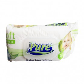 Servetele Umede Bebelusi, Pure, 120 buc