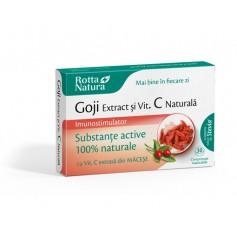 GOJI EXTRACT+ VIT. C NATURALA - 30 COMPRIMATE MASTICABILE