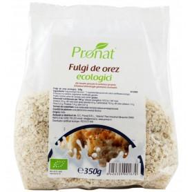 Fulgi de Orez Bio, 350 g, Pronat