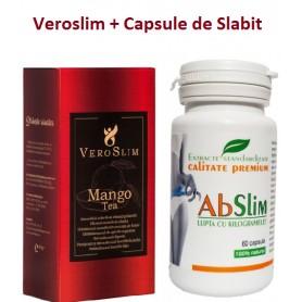 Veroslim + Capsule de Slabit, 60 cp