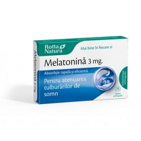 Melatonină 3 mg Sublinguale - 30 tab
