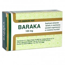Baraka, 100 Mg 24 capsule Pharco