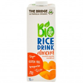 Lapte Bio Din Orez Cu Migdale, 1 L My Bio Natur