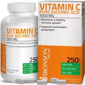 Vitamina C, 1000Mg, 250 cps Bronson