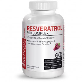 RESVERATROL 500 mg Complex   60 capsule