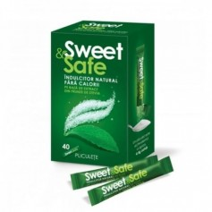 SWEET SAFE INDULCITOR STEVIA 40PL X 4.4