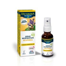 Spray Respirea, Amestec de 7 uleiuri esentiale, Uz Extern 30 ML Diet Aroma