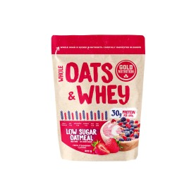 Pudra Proteica cu Ovaz, Oats and Whey, Capsuni 400g Gold Nutrition