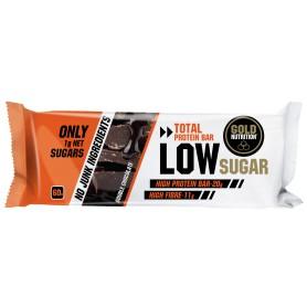 Batoane Proteice, Low Sugar, Ciocolata Extra, 60 g Gold Nutrition