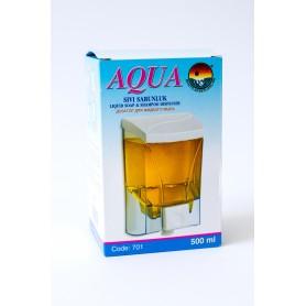 Dozator Sapun Lichid, 500 ML Aqua Sivi